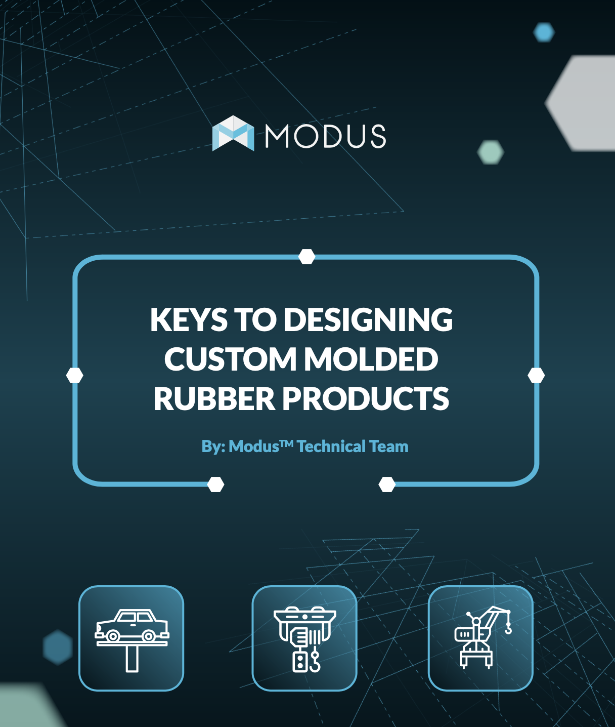 Keys to Designing Custom Molded Rubber Products