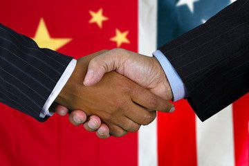Trump and Manufacturing | US and China Handshake