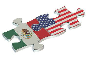 Trump and Manufacturing | US and Mexico Puzzle Pieces