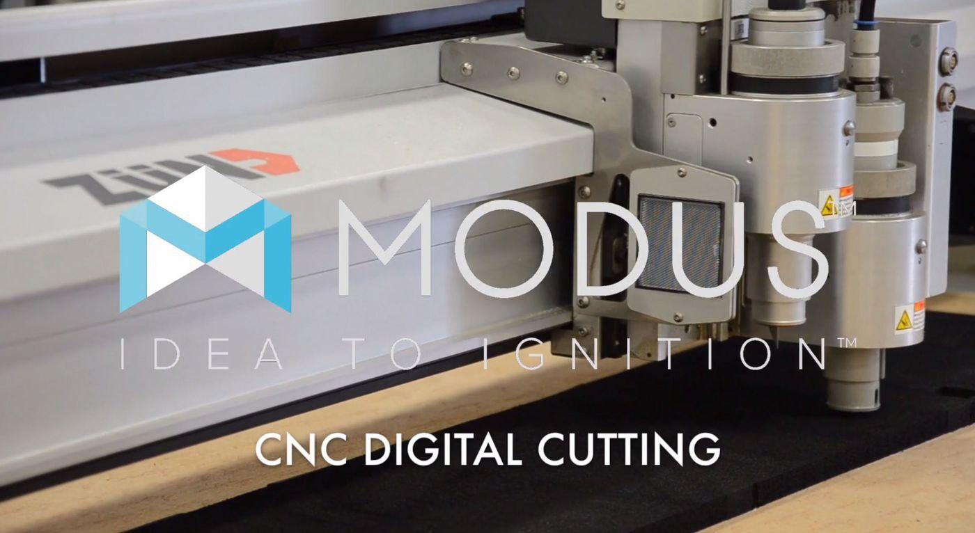 CNC Digital Cutting with a ZUND Cutter