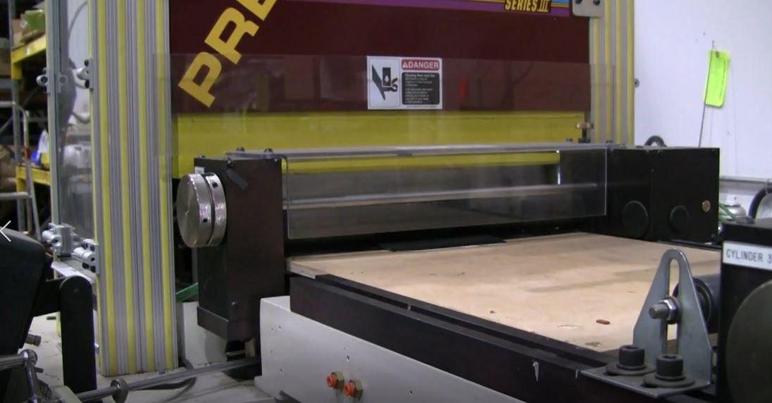 Semi-Automatic Die Cutting