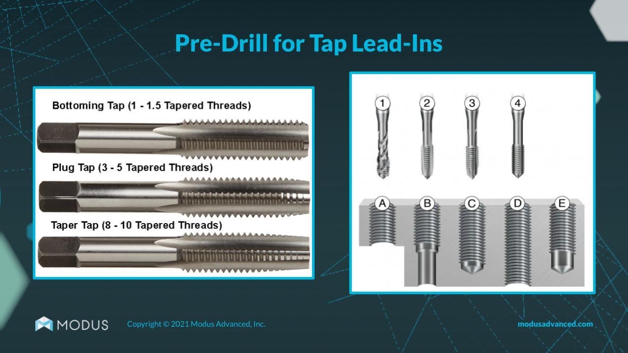 pre-drill-taps-design-webinar