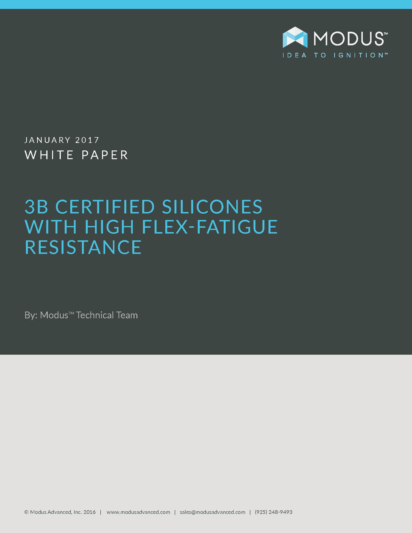 A-A-59588 Class 3B Silicones White Paper